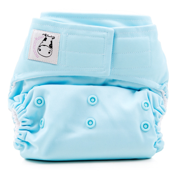 Cloth Diaper One Size Aplix - Baby Blue