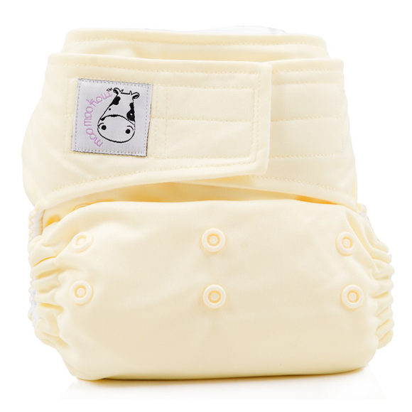 Cloth Diaper One Size Aplix - Butter