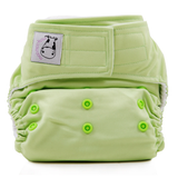 MooMooKow Cloth Diaper One Size Aplix - Celery