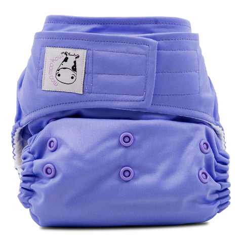 MooMooKow Cloth Diaper One Size Snap - Purple