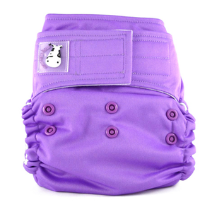 Cloth Diaper One Size Aplix - Violet