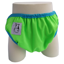 One Size Swim Diaper Apple Green
