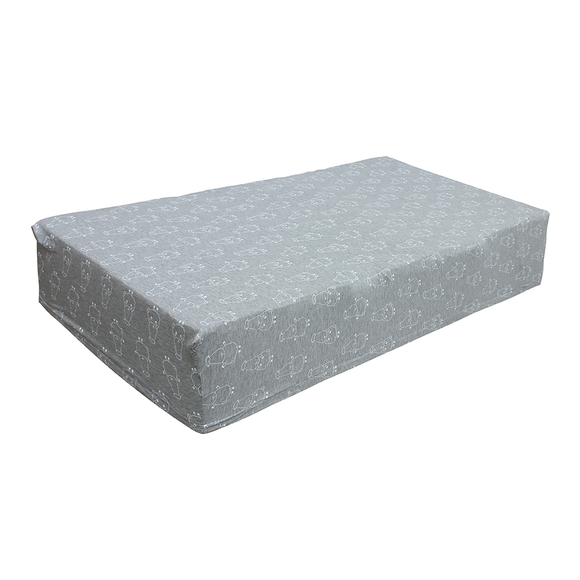 bamboo mattress sheet grey