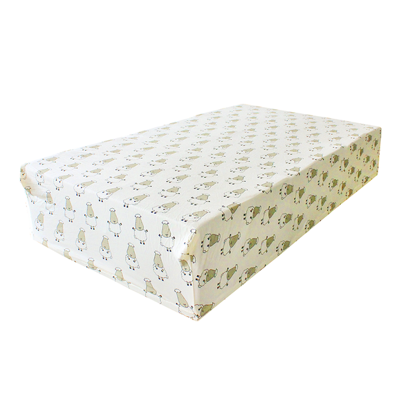 bamboo mattress sheet yellow