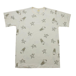 Unisex Short Sleeve T-Shirt Yellow Big Star & Sheepz