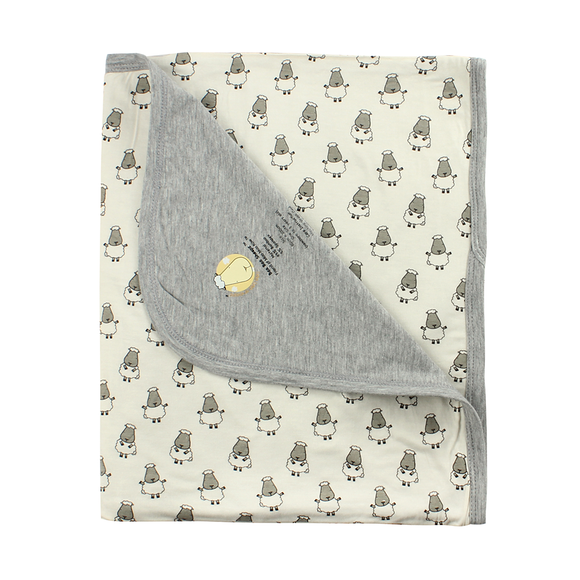 bamboo blanket baby yellow