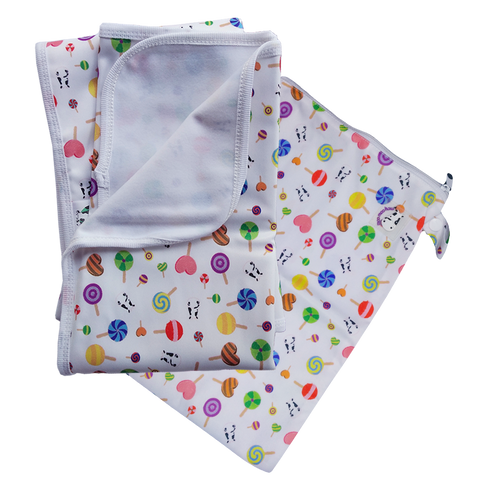 MooMooKow Changing Pad Large Lollipop