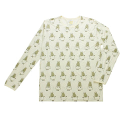 Unisex Long Sleeve Shirt Yellow Big Sheepz