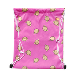 Lucky Bag - Drawstring Bag Lucky Mooky Pink