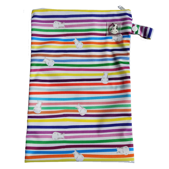 Wet Bag Medium - Rainbow