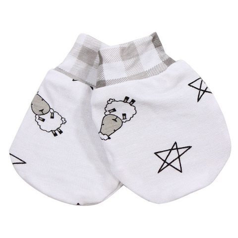 Mittens Small Star & Sheepz 2pairs