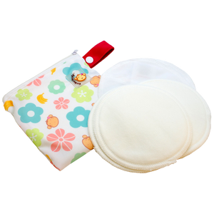 71973944a89 DooDooMooky Bamboo Nursing Pad Mooky Flower Red Tag – Babe Hause