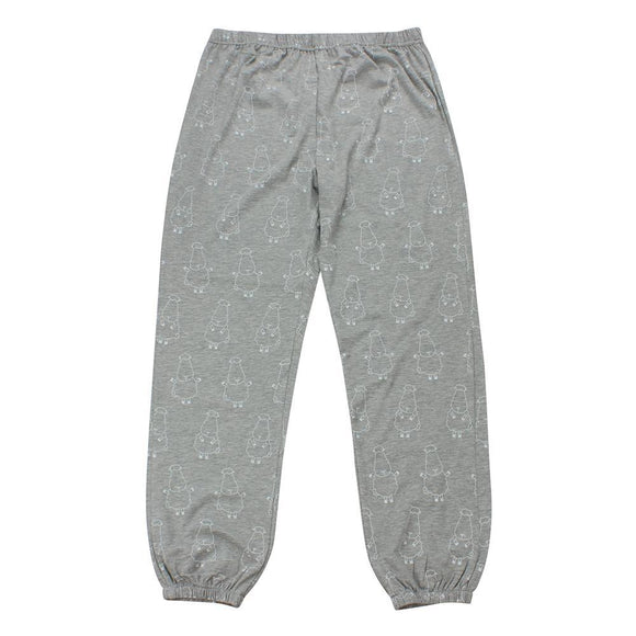 bamboo women long pants grey