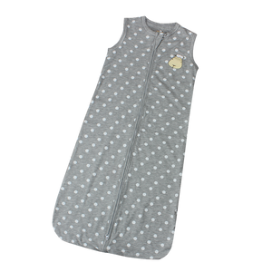 Wearable Blanket Zip Grey Polka Dot
