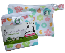 MooMooKow Changing Pad Travel Size - Mooky Flower