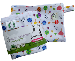 MooMooKow Changing Pad Travel Size - Lollipop
