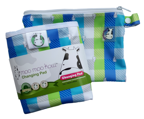 MooMooKow Changing Pad Travel Size Checkers