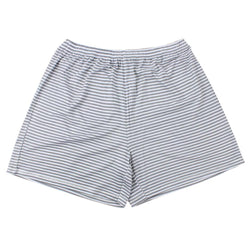 BaaBaaSheepz Bamboo Women Short Pants Grey Stripe XL size