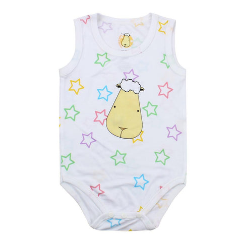bamboo onesie baby colourful