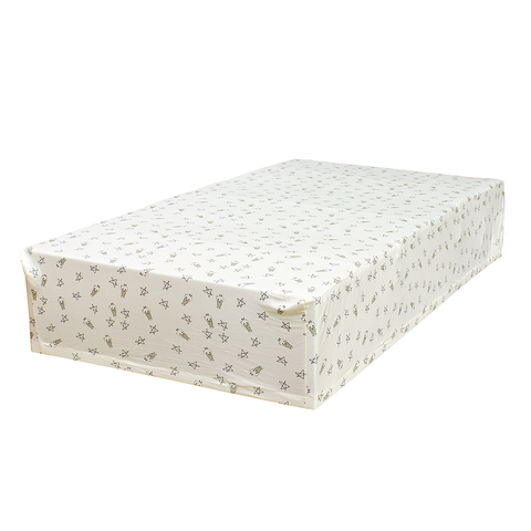 BaaBaaSheepz Bamboo Mattress Sheet Yellow Small Star & Sheepz