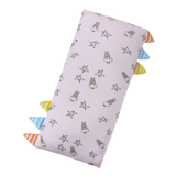 Bed-Time Buddy™ Case Small Star & Sheepz Pink with Stripe tag - Medium