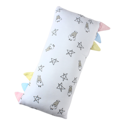 BaaBaaSheepz Bamboo Bed-Time Buddy White Small Star & Sheepz with color tag Medium size