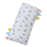 BaaBaaSheepz Bamboo Bed-Time Buddy Case White Small Star & Sheepz with stripe tag Medium size
