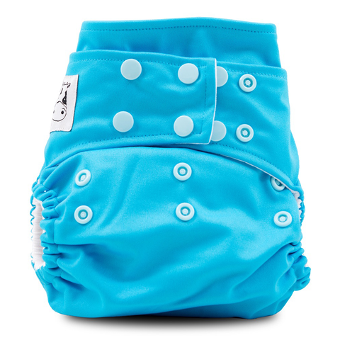 MooMooKow Cloth Diaper One Size Snap - Ocean