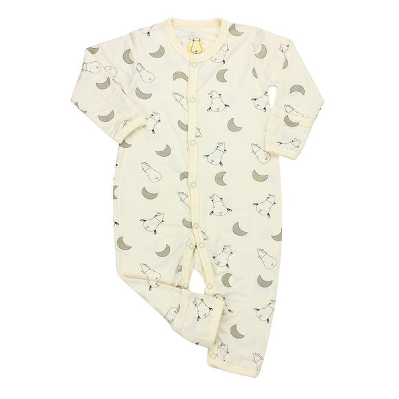 Romper Small Moon & Sheepz Yellow