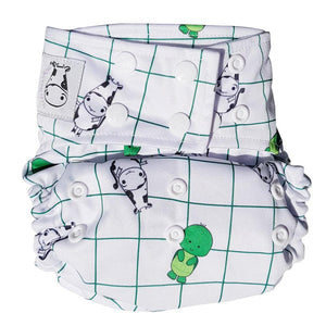 BAMBOO Cloth Diaper One Size Snap - Tuck Tuck Tortle