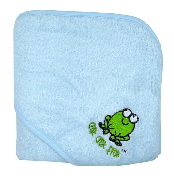 CrokCrokFrok Bamboo Hooded Towel - Blue