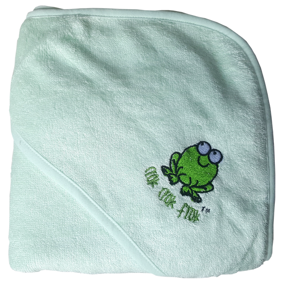 CrokCrokFrok Bamboo Hooded Towel - Green