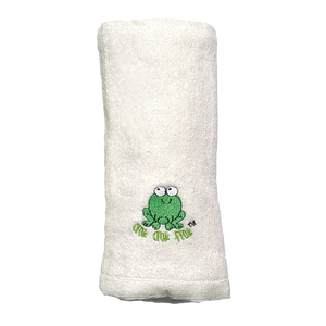 CrokCrokFrok Bamboo Towel for Baby & Kids - White - Small