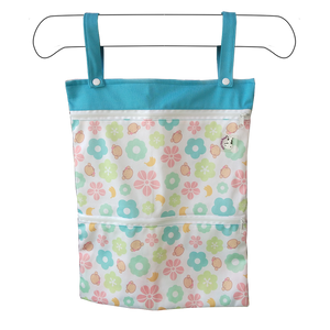 Wet Bag XL - Mooky Flower Blue