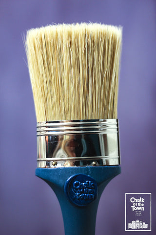 Chalk Of The Town® Paint Oval Paint Brush
