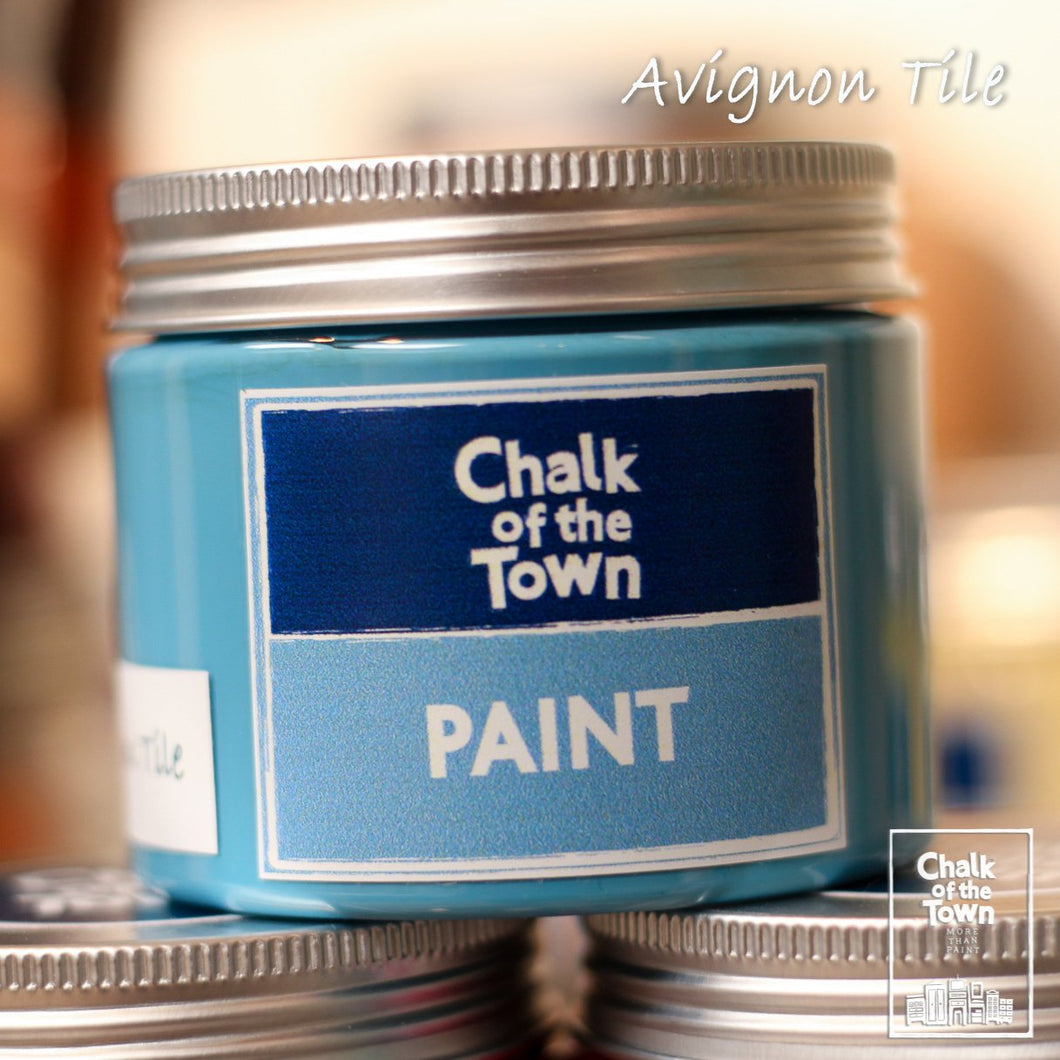 Avignon Tile - Χρώμα Κιμωλίας | Chalk Of The Town® Paint - Chalk Of The Town®