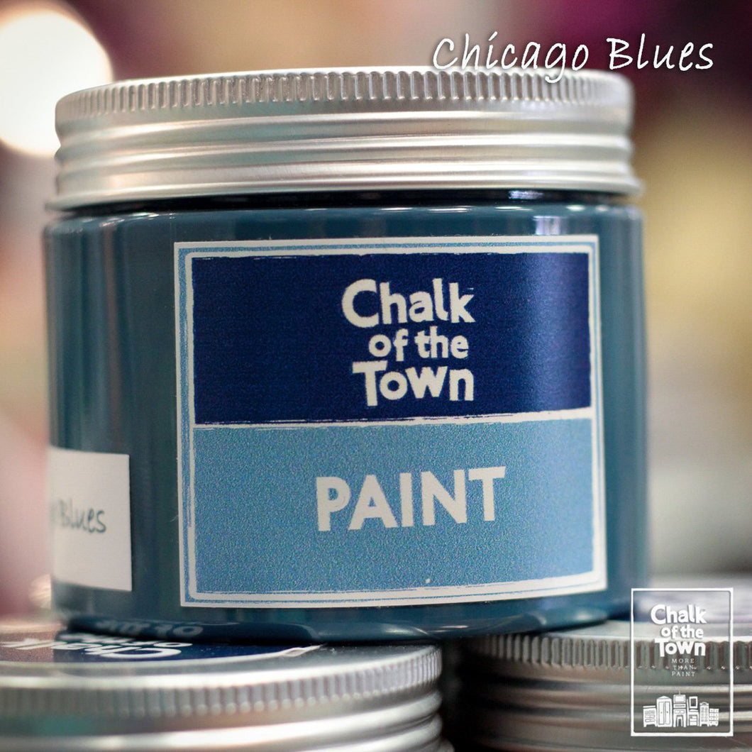 Chicago Blues - Χρώμα Κιμωλίας | Chalk Of The Town® Paint - Chalk Of The Town®