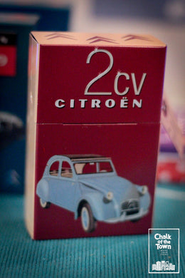 Chalk Of The Town - 2CV Citroen - Cigarette Box