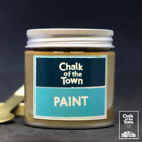 Metallic Gold - Μεταλλικό Χρώμα | Chalk Of The Town® Paint - Chalk Of The Town®