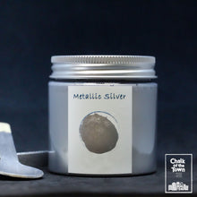 Metallic Silver - Μεταλλικό Χρώμα | Chalk Of The Town® Paint