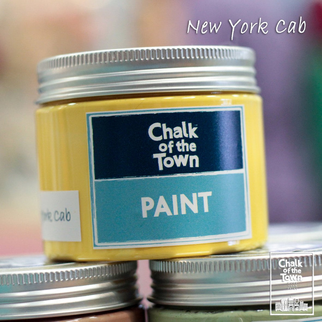 New York Cab - Χρώμα Κιμωλίας | Chalk Of The Town® Paint - Chalk Of The Town®