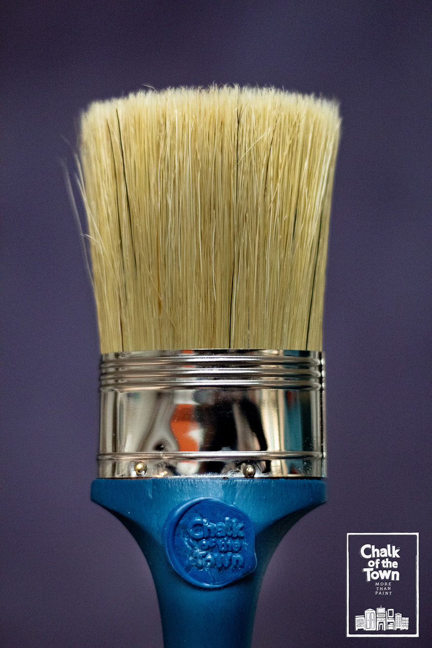 Chalk Of The Town® Paint Brush - Οβάλ Πινέλο για Χρώμα Κιμωλίας 14mm - Chalk Of The Town®