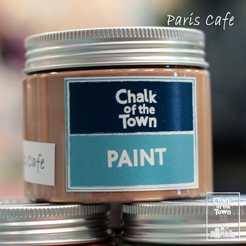 Paris Café - Χρώμα Κιμωλίας | Chalk Of The Town® Paint - Chalk Of The Town®