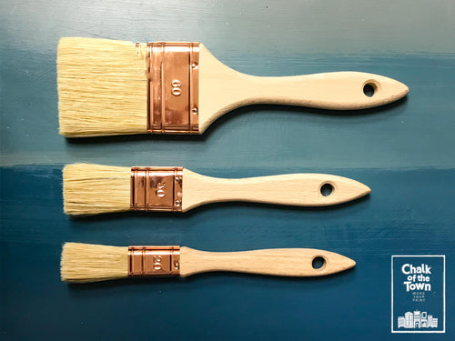 Chalk Of The Town® Brushes - Every Day Flat Series - Chalk Of The Town®