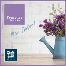 Toulouse Violet - Χρώμα Τοίχου| Chalk Of The Town® Wall Paint