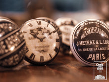 Σετ από 8 Vintage Κεραμικά Πόμολα | Vintage Signs & Clocks knobs (set of 8) - Chalk Of The Town®