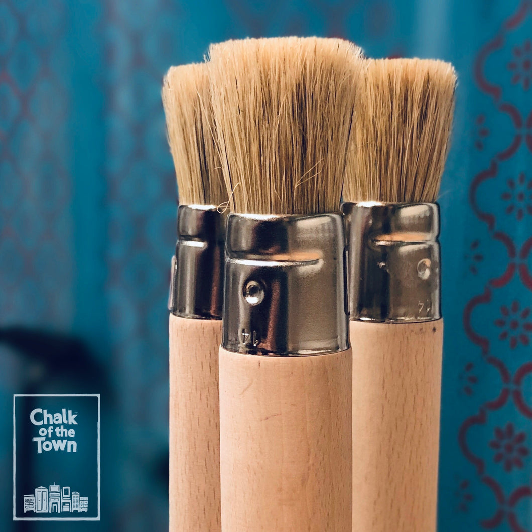 Chalk Of The Town® Brushes - Πινέλο Stencil 14mm - Chalk Of The Town®