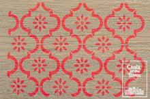 Sarrah - Chalk Of The Town® Moroccan stencil