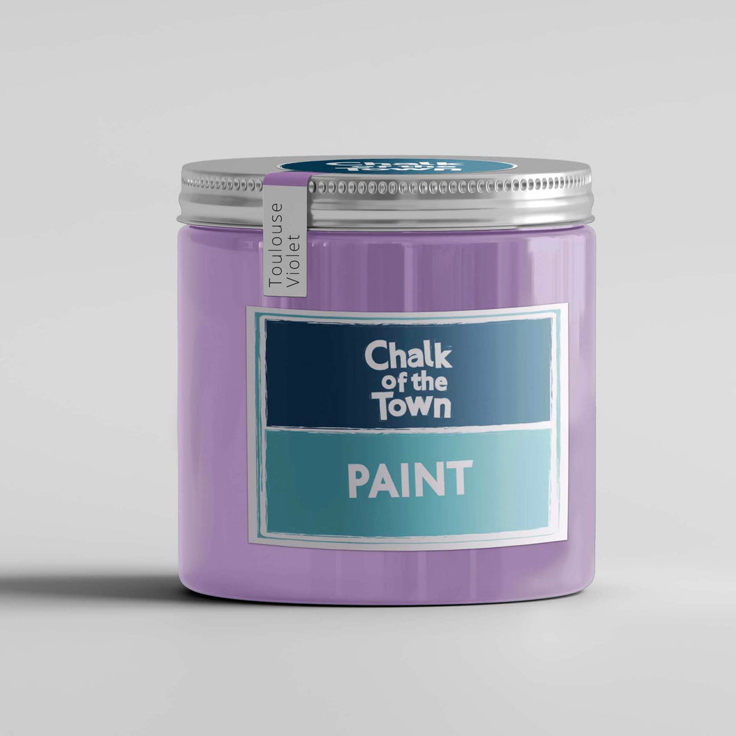 Toulouse Violet - Χρώμα Κιμωλίας | Chalk Of The Town® Paint - Chalk Of The Town