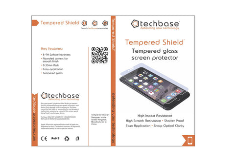Tempered Shield for iPhone 5, 5s. 5c & SE